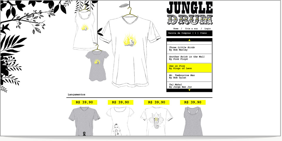 Jumngle Drum E-commerce
